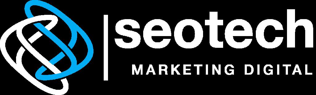 logo seotech blanco